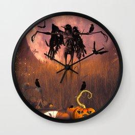 Halloween design Wall Clock