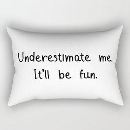 Underestimated Rectangular Pillow