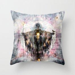Geclipian - invocation Throw Pillow