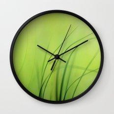 Sway  (Grass) Wall Clock