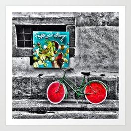 Caffe' Del Borgo Art Print
