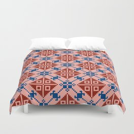 Folk Pattern Duvet Cover