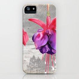 Macro Flower #7 iPhone Case