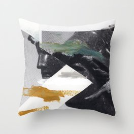 Untitled (Painted Composition 2) Throw Pillow