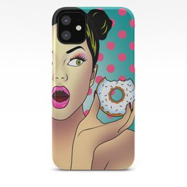 sweet portrait iPhone Case
