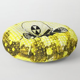 Guerrilla Nuclear Warrior Floor Pillow