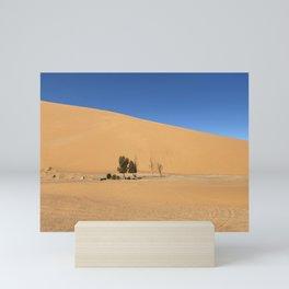 Tiny Desert Oasis - Morocco  Mini Art Print