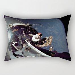 Apollo 9 - Spacewalk Rectangular Pillow