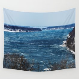 Endless Blue Wall Tapestry