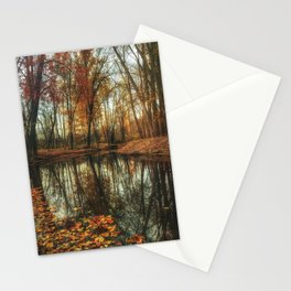 Leaves Are Falling Autumn Is Calling Stationery Cards