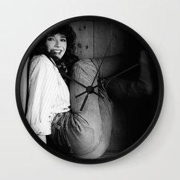 kate bush in a box Wall Clock