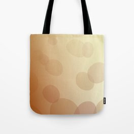 SIMPLE DOTS BLUE ON WHITE Tote Bag