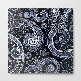 Swirly Swirls Metal Print
