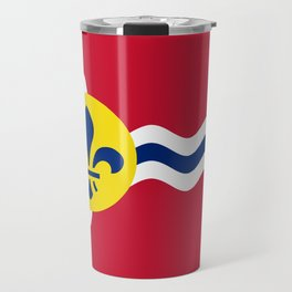 Flag of St. Louis, Missouri Travel Mug