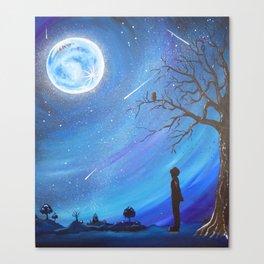 Balance of the Night Canvas Print