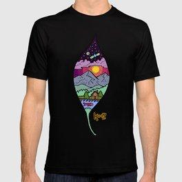 falling leaf T-shirt