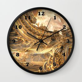 Highway by the Sun Wall Clock