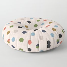 Simple Circles in Fantastic Output Floor Pillow