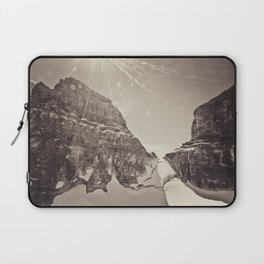 peaks at mount assiniboine Laptop Sleeve