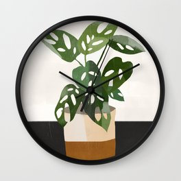 Plant 11 Wall Clock