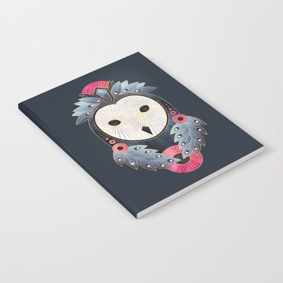 Owl 1 - Dark Notebook