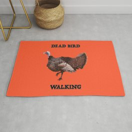 Dead Bird Walking Rug