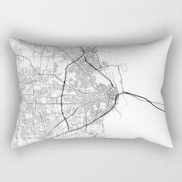 Minimal City Maps - Map Of Mobile, Alabama, United States Rectangular Pillow