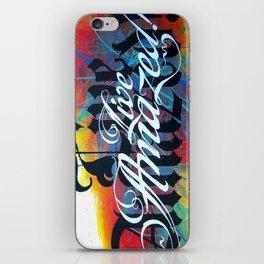 Live Amazed! iPhone Skin
