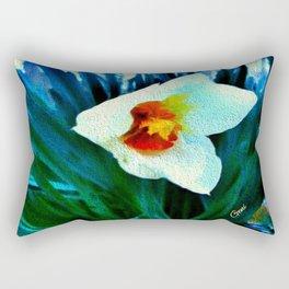First Jonquil of Spring Rectangular Pillow