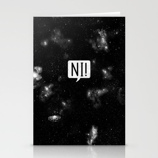 The Night Who Says Ni Stationery Cards