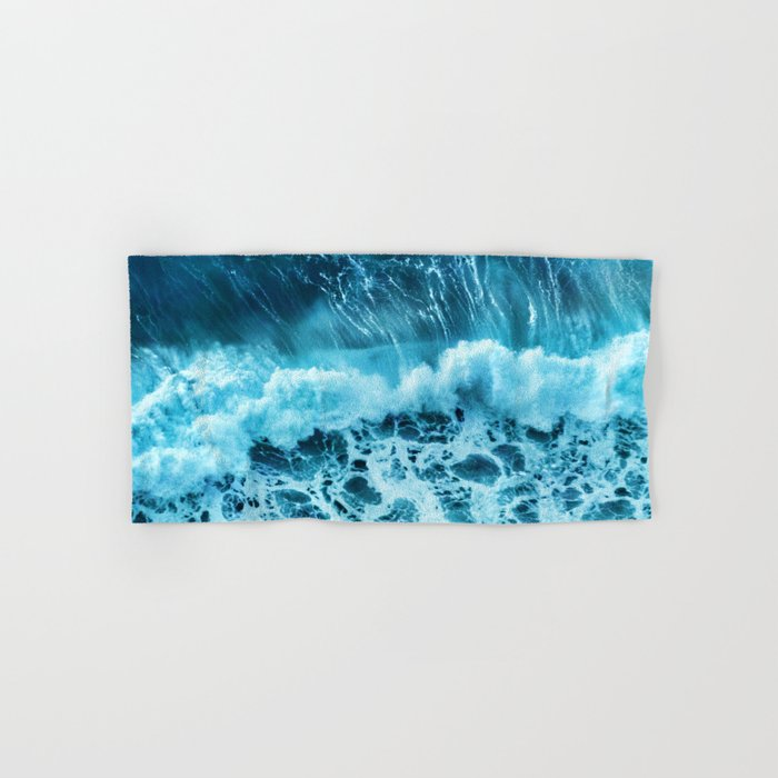 Sea wave Hand & Bath Towel