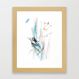 Skilled Sagittarius Framed Art Print
