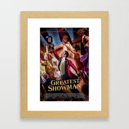 The Greatest Showman Framed Art Print