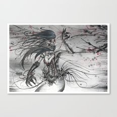 A Reality Through Fatality Canvas Print