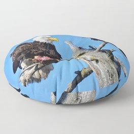 Avian Showdown Floor Pillow