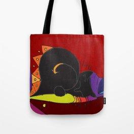 Mary-Anne's Red Cat Mug Tote Bag