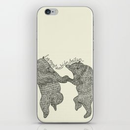 bears do dance! iPhone Skin