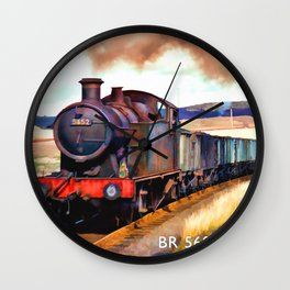 Classic Locomotives of United Kingdom Wall Clock