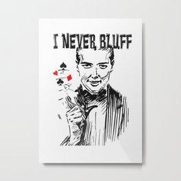 Poker Metal Print