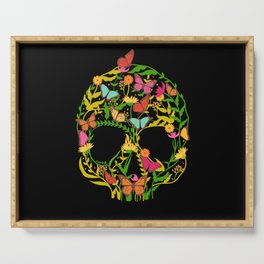 Scull Flower Serving Tray