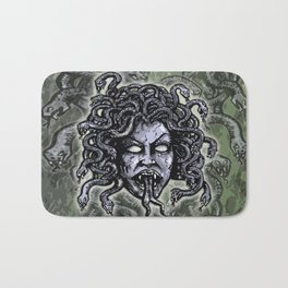 Medusa Gorgon Bath Mat
