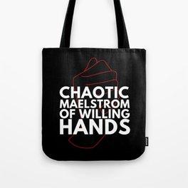 LONGER TEXT Tote Bag
