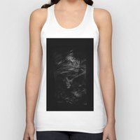 the cure Tank Tops featuring CURE by Atrament Fox