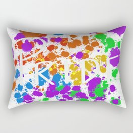 Painted pride Rectangular Pillow