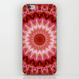 Mandala Forever in Love iPhone Skin