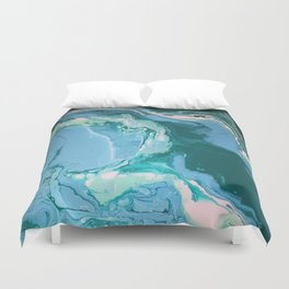 Oceanic Flow Duvet Cover