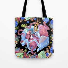 Tiger and Stag Tote Bag