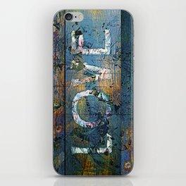 Rough Love iPhone Skin