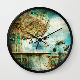 Dear mom...I joined the circus Wall Clock