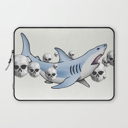 Shark & Skulls Laptop Sleeve